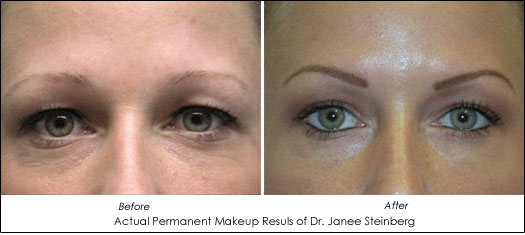 permanent makeup benefits