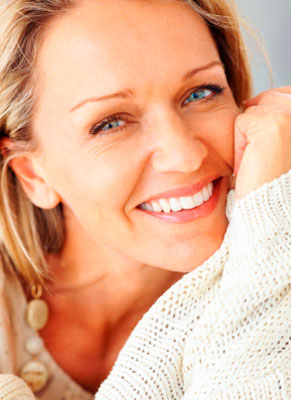Woman Happy with her Botox Results