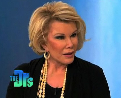 image of joan rivers on the doctors
