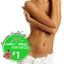 The Best Surgical Procedure in 2011 as voted by the American Health and Beauty Readers' Choice was liposuction, the ever popular body contouring procedure.