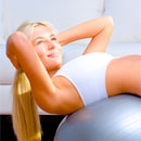 Stability Ball Exercises: Full Body Workout