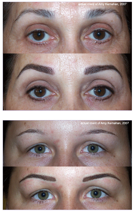 tattoo eyebrows. tattoo or coil machines,