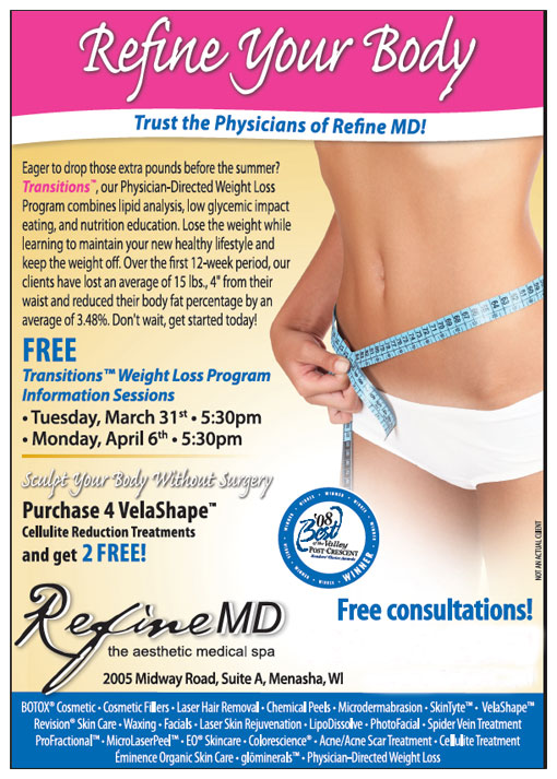refine md announces transitions weight loss program ahb